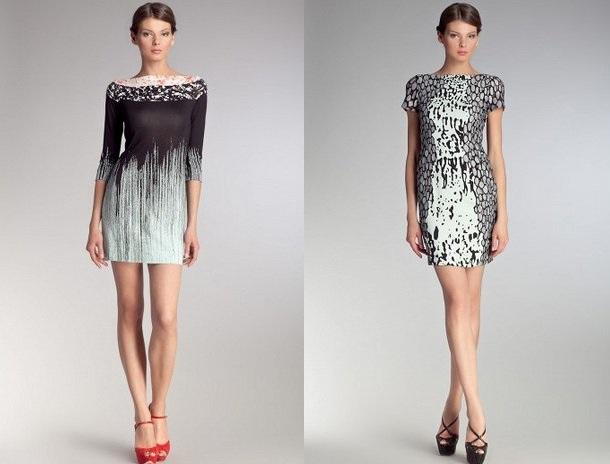 Шелковые платья короткие фото