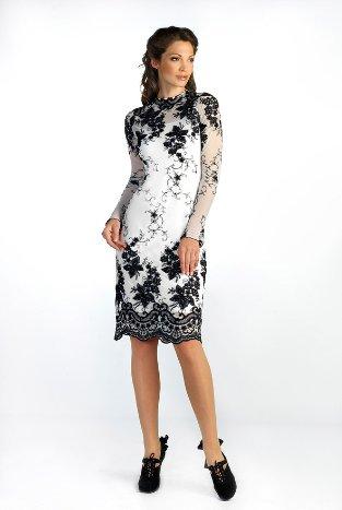 Итальянское платье белое