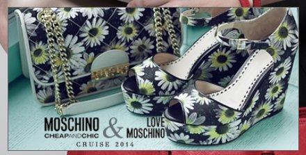Коллекция Moschino Love Весна-Лето 2014